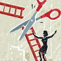 Women in Top Management: Broken Ladders and Human Rights